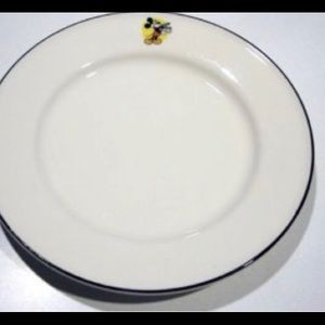 Vintage Mickey Mouse Luncheon plates